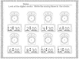 time worksheets first grade worksheets
