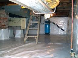 the cleanspace wall basement vapor barrier system