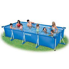 Intex Metal Frame Swimming Pools Intex Ultra Frame Pool Rectangular
