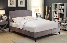 Platform Bed Canada Nspire Uptown Double Bed Grey 101 480d Gy Modern Furniture Canada