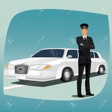 voiture de luxe chauffeur pilote de voiture de luxe comme limousine ou lincoln
