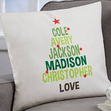 family tree 18 personalized throw pillow gifts