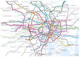 Korean Subway Map by Jr Line Railmap