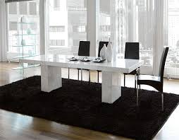 modern unico quasar marble coated dining table choice of colour
