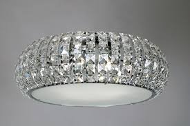 fresh semi flush crystal ceiling lights 20 for ceiling light bar