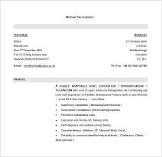 Hvac Resume Examples by Best Hvac And Refrigeration Resume Example Livecareer