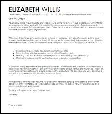 background investigator cover letter
