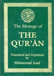 the message of the quran by muhammad asad the message of the qurʾān by محمد أسد