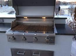 custom outdoor kitchen matches the house015 u2013 hi tech appliance