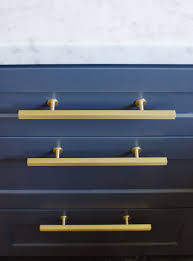 navy blue kitchen cabinet pulls top hardware styles to pair with your shaker cabinets gold
