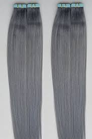 silver hair extensions 18 20 100grs 40pcs 100 human in hair extensions
