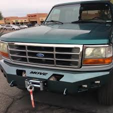 prerunner bronco bumper weld it yourself 1992 1996 ford bronco bumpers move