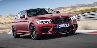 matte red bmw 2018 bmw m5 revealed frosty u0027first edition u0027 to open launch range