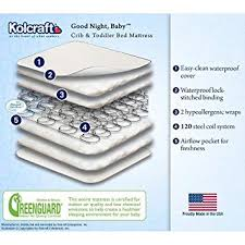 Kolcraft Crib Mattress Reviews Kolcraft Goodnight Baby Crib Mattress 120 Coil Baby