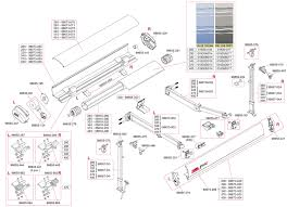Rv Awning Parts Diagram Caravansplus Spare Parts Diagram Fiamma F65 S 260 400 Awning