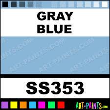 gray blue softees ceramic porcelain paints ss353 gray blue