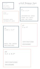 wedding invitations size wedding invitations simple standard size wedding invitation your
