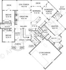 apartments lakefront home plans rustic lake empty nester house