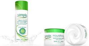 simple ultra light gel moisturizer simple skin care s two new moisturizers save your skin this winter