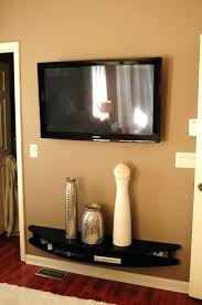 How To Hang Shelves by Wall Ideas Hang Tv On Wall Without Drilling Hanging Tv On Wall