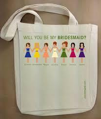 bridesmaid gift bag bridesmaids tote bag the celebration society