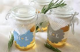 honey jar wedding favors wedding details diy rosemary and honey jars wedding favors