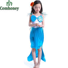 Mermaid Halloween Costume Toddler Compare Prices Dress Mermaid Kids Shopping Buy