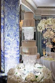 Upside Down Crystal Chandelier Hanging Floating And Upside Down Wedding Cakes We Love Wedding
