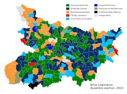 assembly row map bihar legislative assembly election 2015