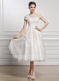 brautkleid aus t ll a linie princess linie u ausschnitt wadenlang tüll spitze