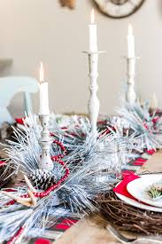 Christmas Table Decorating On A Budget by Christmas Breakfast Table Kitchen Details Bless U0027er House
