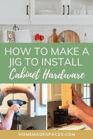 kitchen cabinet door hardware jig how to make a jig for kitchen cabinet hardware spaces