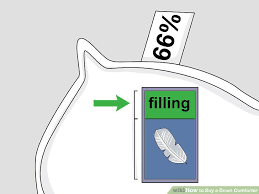 How To Dry A Down Comforter How To Buy A Down Comforter 12 Steps With Pictures Wikihow