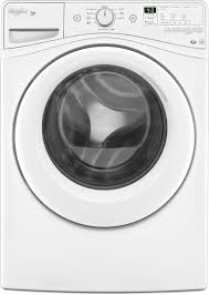 whirlpool wfw81hedw 27 inch 4 2 cu ft front load washer with 9