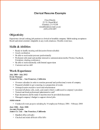 clerical sample resume clerical resume dalarcon com resume clerical resume templates