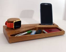 wood apple watch docking station apple watch iphone stand