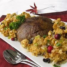 vegetarian thanksgiving turkey vegan u201cturkey u201d roast with stuffing