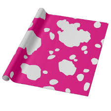 cow print wrapping paper cow print wrapping paper zazzle