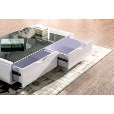 white and black coffee table coffee table white gloss black glass top coffee table