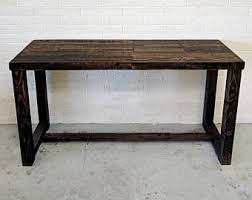 Counter Height Conference Table Meeting Table Etsy