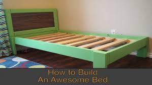 diy king platform bed floating frame lift storage how to build