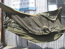 uwg 0121 wwii us army jungle hammock field equipment military