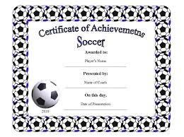 free printable football certificates template update234 com