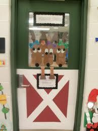 christmas christmas door decorating ideas office pinterest for