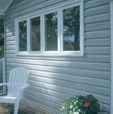 gentek my design home studio northern forest elite in aspen with white trim siding vinyl