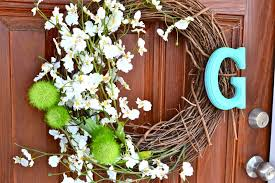 diy spring wreath liz marie blog
