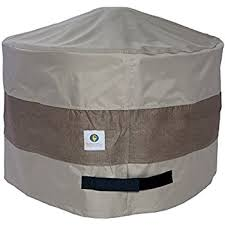 Ll Bean Fire Pit - amazon com duck covers elite round fire pit cover 50 inch