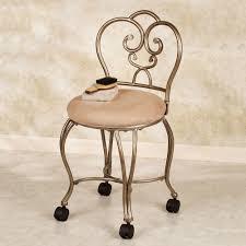 Teamson Vanity Vanity Chair Venetian Gold Raina Vanity Stool Gold Karyna Vanity