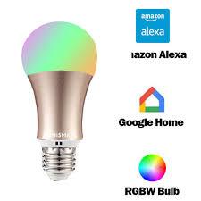 alexa controlled light bulbs ifttt google led bulb dimmer 2 4g wifi smart light bulbs remote