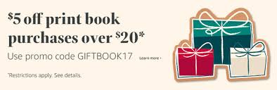 holiday coupon extended amazon 5 off 20 print book holiday coupon code